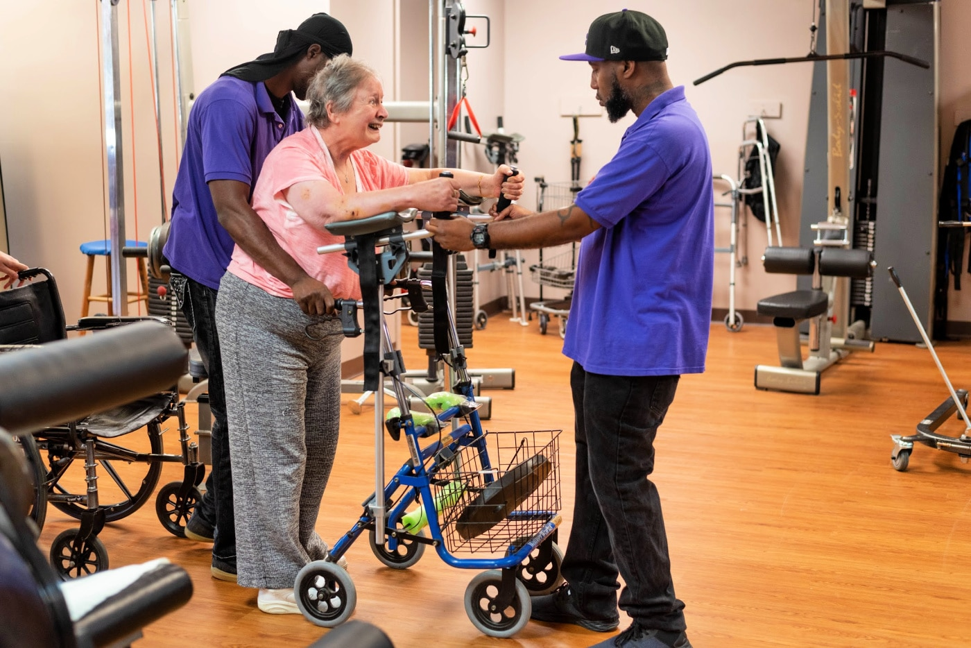 Learn how Moving With Hope can assist with your physical therapy needs.