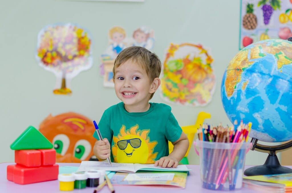 Occupational therapists also work in school settings