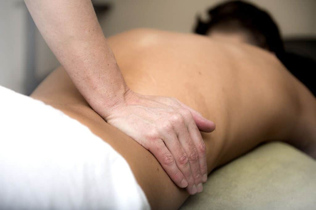 A massage is one of many physical therapy techniques