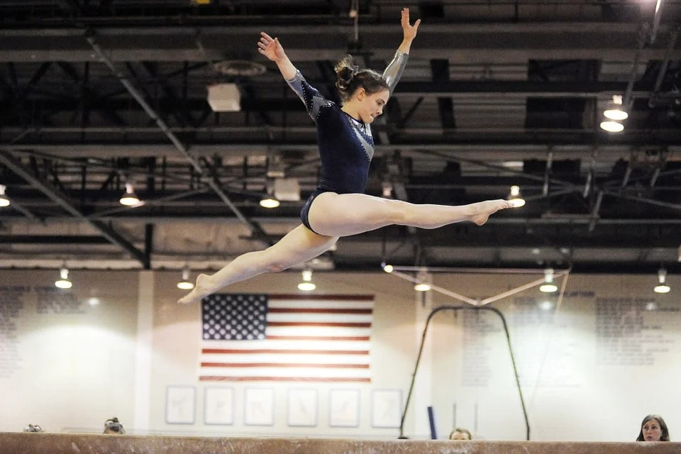 Gymnasts need to be in prime physical shape to perform their skills